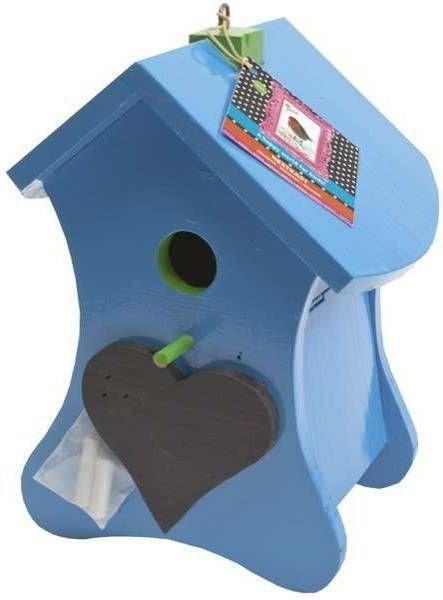 Buzzy Birds Nestkast krijt Blauw Ral 5015 en het stokje Ral 6018 online kopen