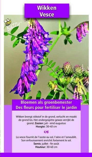 Groenbemester Wikken / 150 gr 15 m2 online kopen