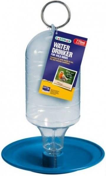 Waterdrinker (fles met schotel) kunststof inh. 770 ml. online kopen