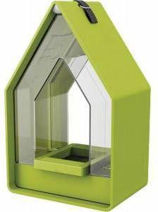 Emsa Landhaus vogel voederhuisje met silo lime online kopen