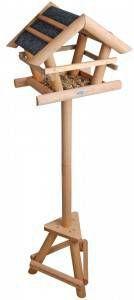 Esschert Design Voedertafel voor vogels met bitumen dak online kopen