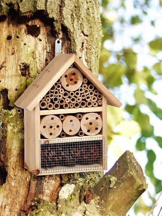 Huismerk Premium Insectenhotel 25 x 30 x 10 cm online kopen